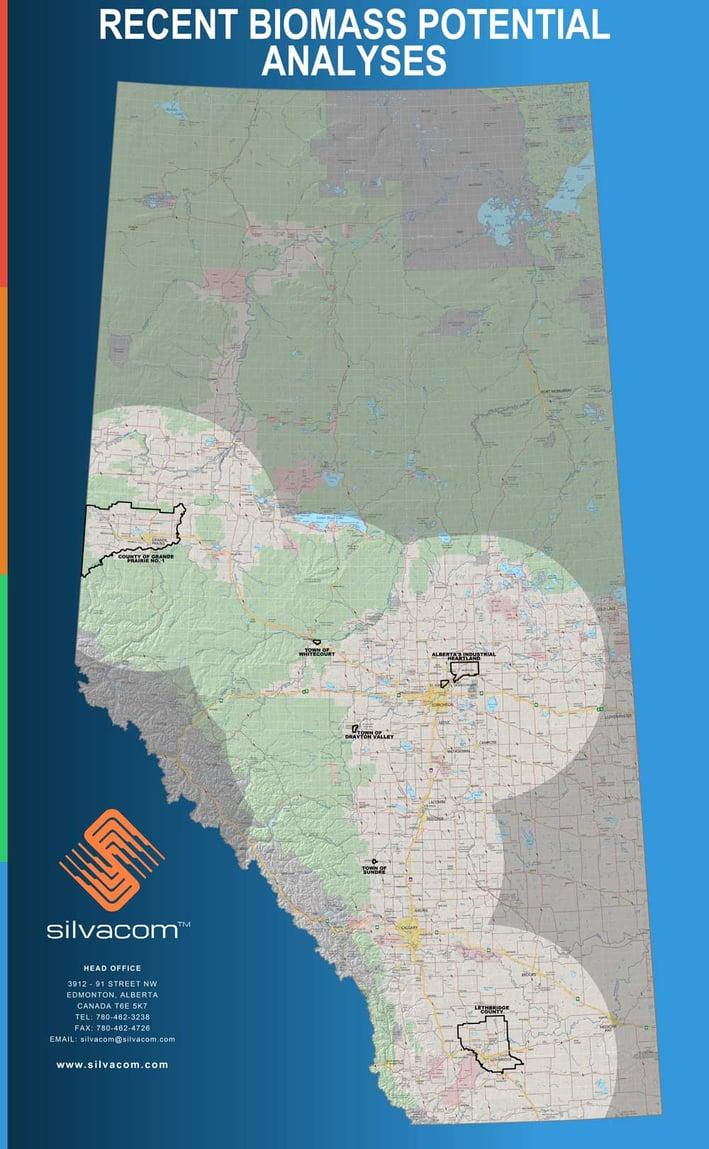 Recent Biomass Potential Analyses of Alberta