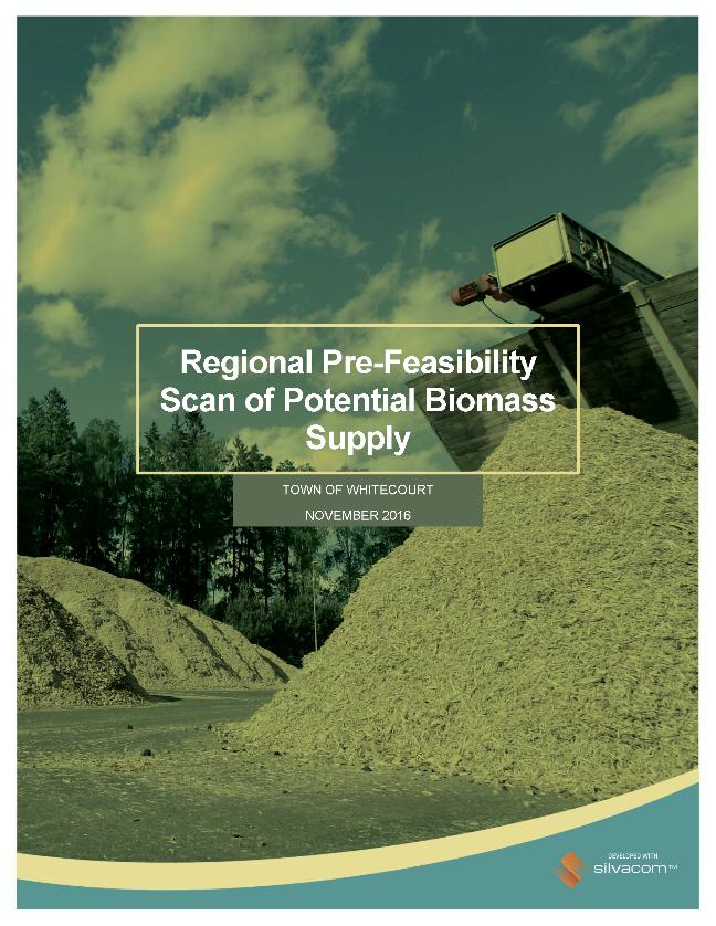 biomass assessment report Town of Whitecourt Alberta