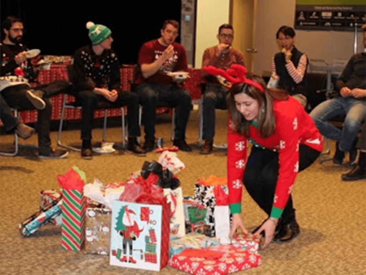 Ugly Sweater Christmas Gift Exchange